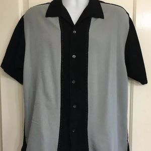 Other - 2 Rockabilly Retro Bowling Men's Shirts Large